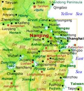 Nanjing_Area_-_Lower_Yangtse_Valley_&_Eastern_China_Map